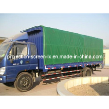 PVC with Polyester Reinforce Truck Awning Fabric 520g